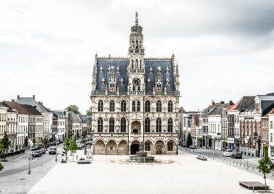 Heraanleg Markt Oudenaarde