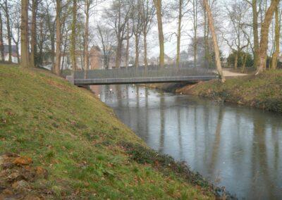 Brugconstructie Park Oudenaarde