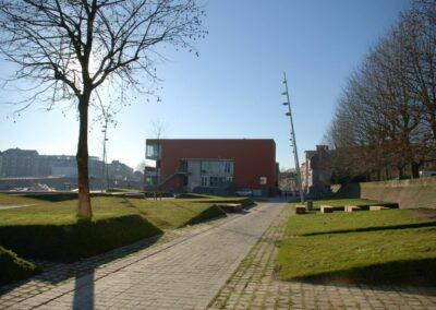 Omgevingsaanleg Vaneyckzwembad